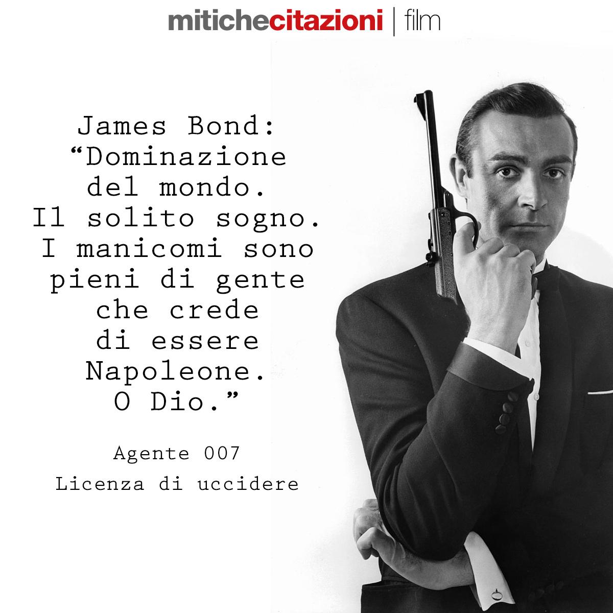 James Bond da Agente 007 Licenza di uccidere