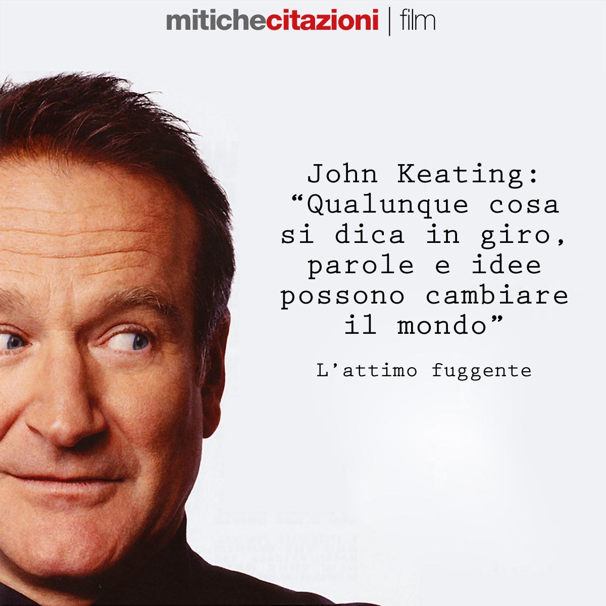 John Keating da L'attimo fuggente